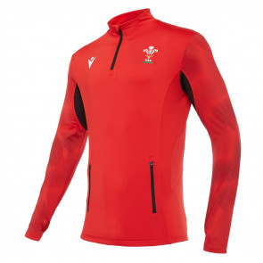 GALLES RUGBY MACRON - GIACCA SOFTSHELL ALLENAMENTO UFFICIALE - STAGIONE 2020/21